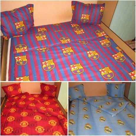 Спален комплект на Ман.Ю,Реал М или Барселона - за приста или спалня