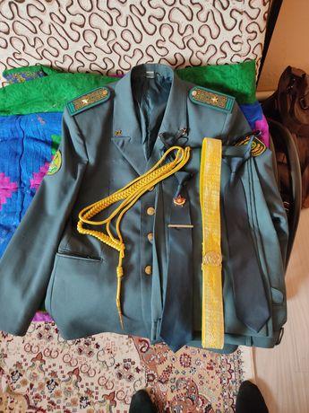 Парадная военная форма КНБ РК