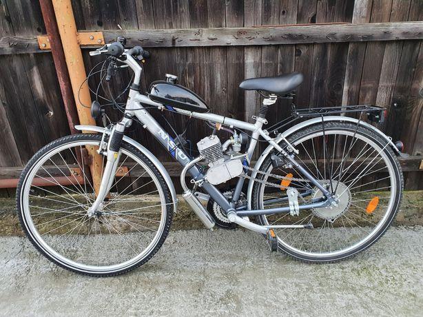 Bicicletă cu motor 2Timpi pe benzina !