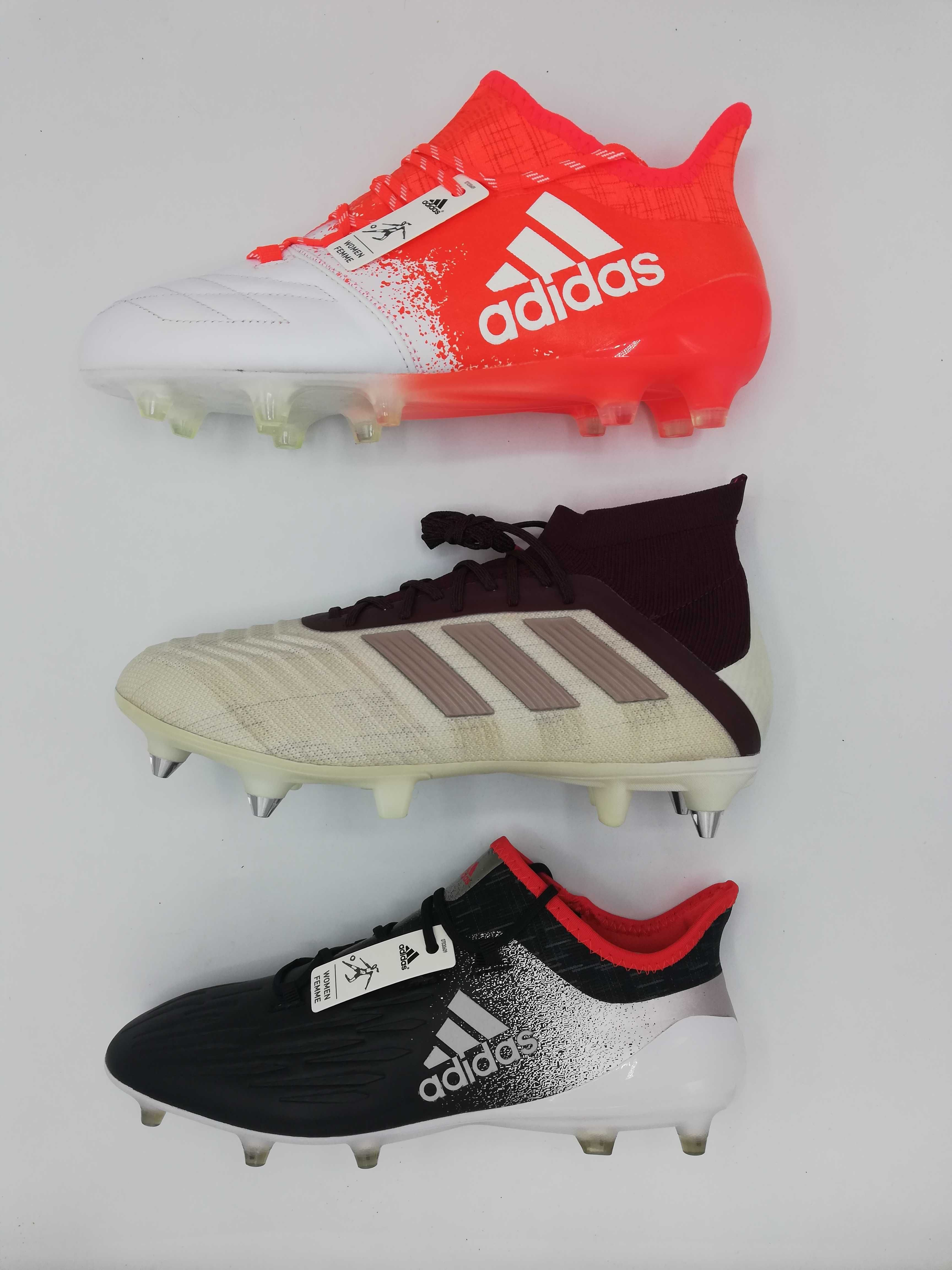 Ghete fotbal pentru femei Adidas pro Predator si X