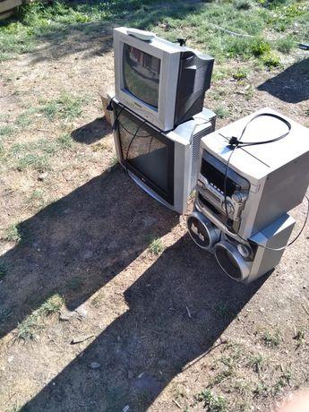 Продам телевизор и музыкальный центр