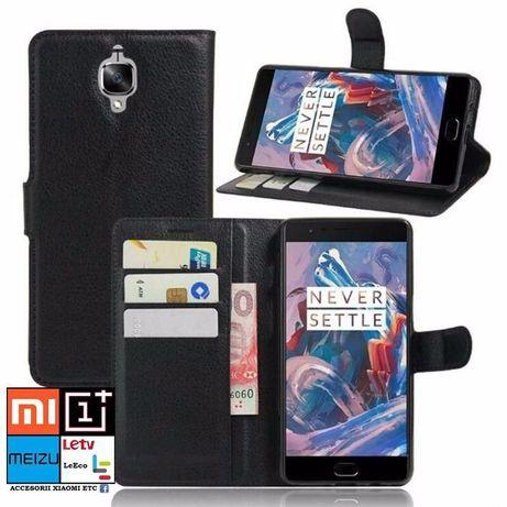 Huse Flip Wallet Oneplus 1, 3, 3T, 5, 5T, 6, 7, 7T Pro, 8, 8 Pro