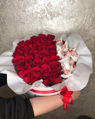 Бесплатная доставка цветов по городу Уральск