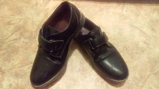 Детские мальчиковые туфли 28 размер
