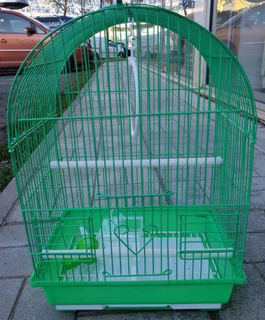 Клетка за птици средна L-2 объл покрив 000100 за 1 или няколко броя