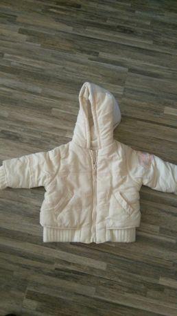 Топло зимно яке за момиче, доста запазено