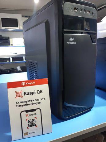 Для офиса и дома/Core I3-10100/8 gb/HDD 500gb/SSD 120gb/Kaspi