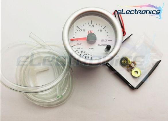 RGB 6 цвята Измервателен уред,  Уред за измерване на турбо Boost Meter
