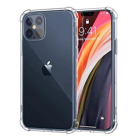 Husa Slim Silicon Transaprenta Anti Soc - Iphone 12 MINI / PRO / MAX
