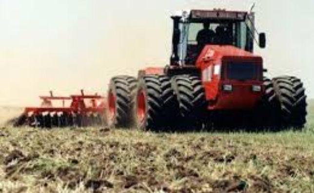 Обработка поля, земли. Культиватор
