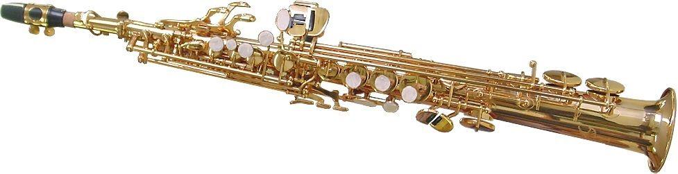 Saxofon Sopran AURIU drept NOU KarlGlaser Saxophone Si b Germania Sax