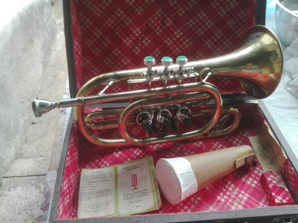 Vand ..schimb. trompeta..pe un clarinet