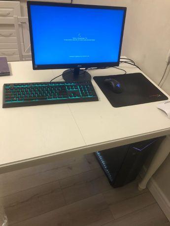 GAMING PC Core i5-9400F 16GB Монитор, клавиатура, уши, мышь