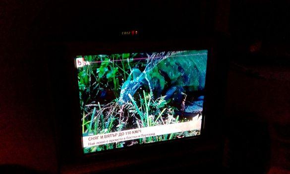 работещ CRT телевизор Samsung 29 инча има нужда от ремонт
