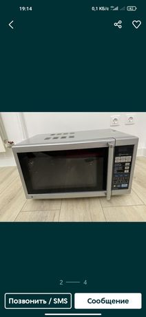 Продам микроволновая печь в отличном состоянии LG как новый