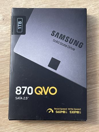 Solid-State Drive (SSD) Samsung 870 QVO, 1TB, SATA III Nou