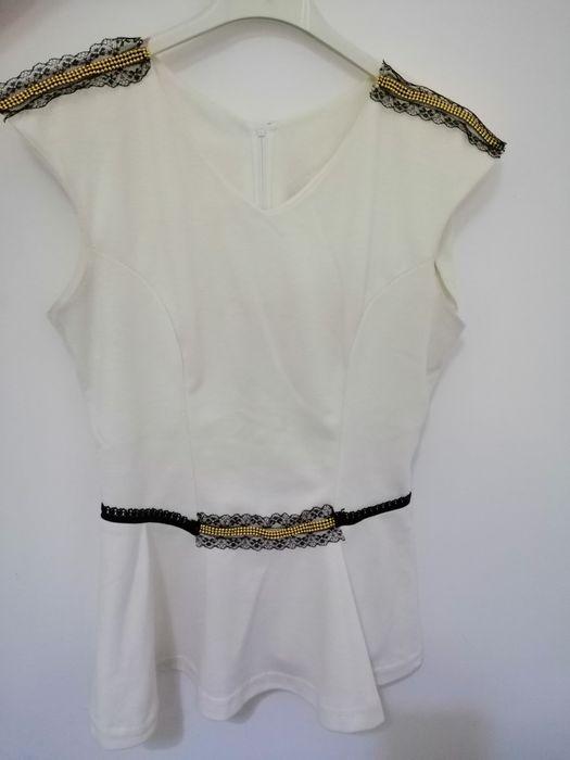 Bluza cu peplum/volane Bucuresti - imagine 1