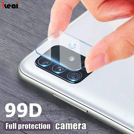 Стъклен протектор за камера за Samsung S20 A51 A71 A50 A70 Ultra S9+