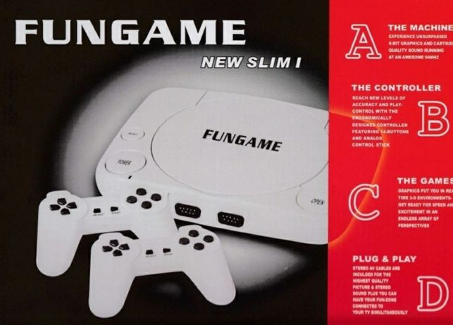 Joc TV FUNGAME NEW SLIM I consola cu jocuri pe televizor