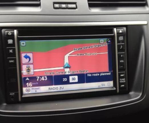 Card Mazda TOMTOM pentru navigatiile NVA-SD8110EU Europa + Romania
