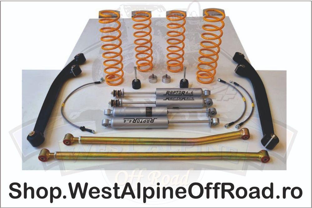 Kit suspensie Off Road Raptor 4x4 Complete Trial + 6 cm Suzuki Jimny