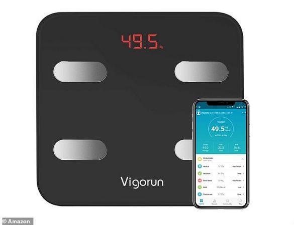 Smart Bluetooth електронна везна Vigorun