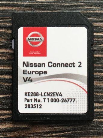 Nissan Connect 2 V4 Sd Card 2020гд Нисан Сд Карта Навигационна Карта