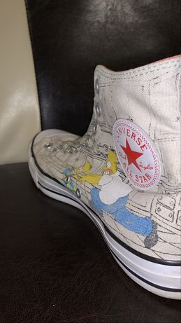 Converse x The Simpson