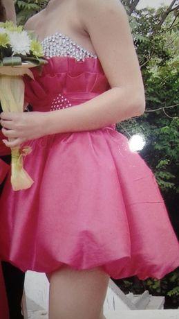 Официална рокля с камъни Сваровски