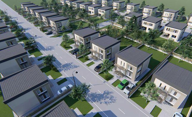 Complex de case individuale în Corbeanca, la doar 109.500 euro+TVA