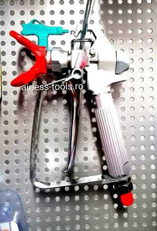 Pistol airless vopsit cu duza presiune joasa