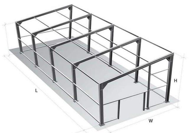 Vand hale metalice la comanda clientului