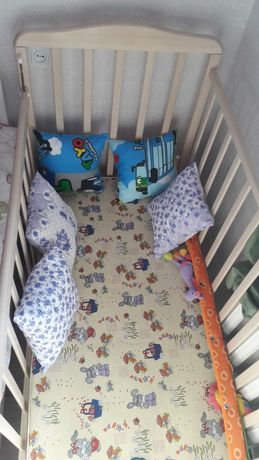 Детский кровать манежка