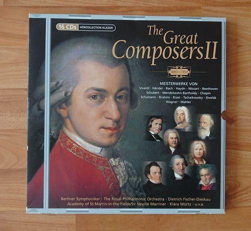 16CD Колекция класическа музика The Great Composers II (1680 - 1910)