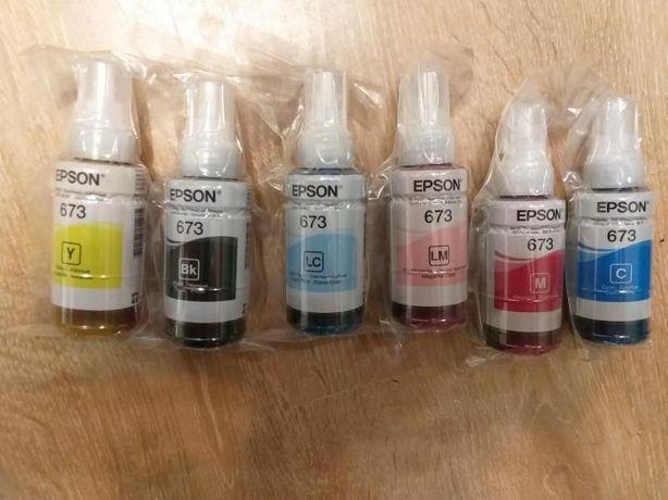 Оригинальные краски (чернила) от Epson 800 и 805