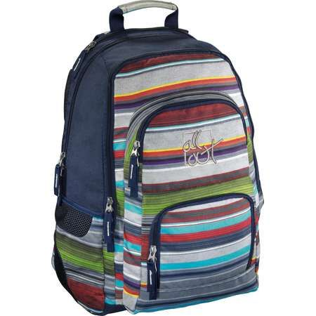Rucsac All Out Louth Waterfall Stripes 17 inch