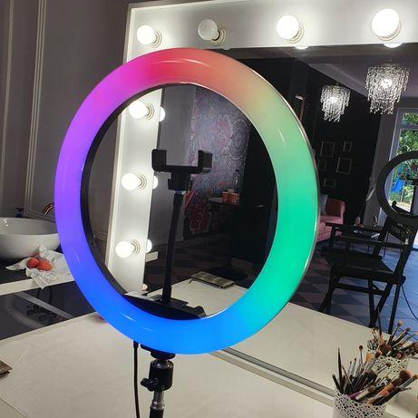 Ring light led multicolor 33 cm