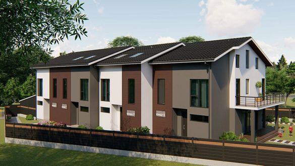 Къщи двуетажни затворен комплекс Green House1 ново строителство