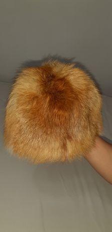 Нова шапка от естесвена кожа на лисица.