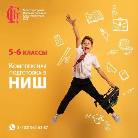Онлайн курсы подготовки в НИШ (5 предметов)