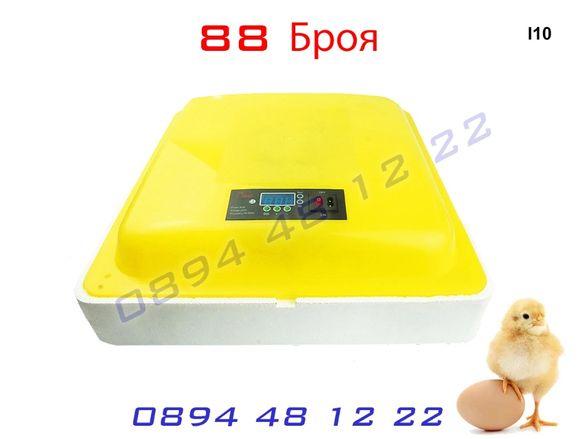 Инкубатор 88 Птичи Яйца Люпилня Пилета Яйце Пиле Инкобатор