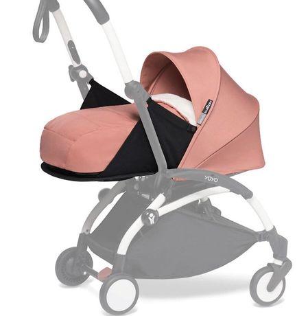Люлька на коляску yoyo розовая