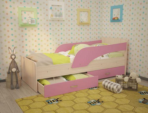 №167 Детская кровать «Антошка» с бортиками