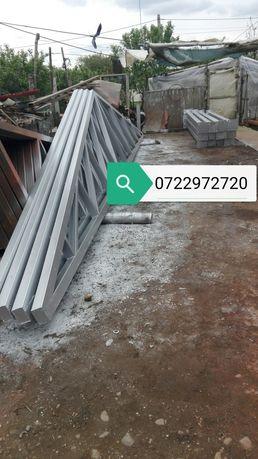Vând hală metalică în două vărsate deținem stoc p10 12 m lățime produc