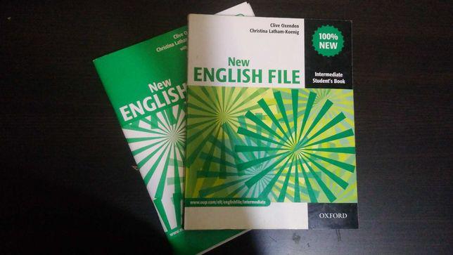 Учебник New English file Intermediate (Oxford)
