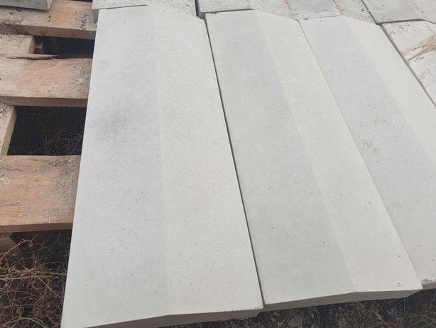 capace din beton pentru gard