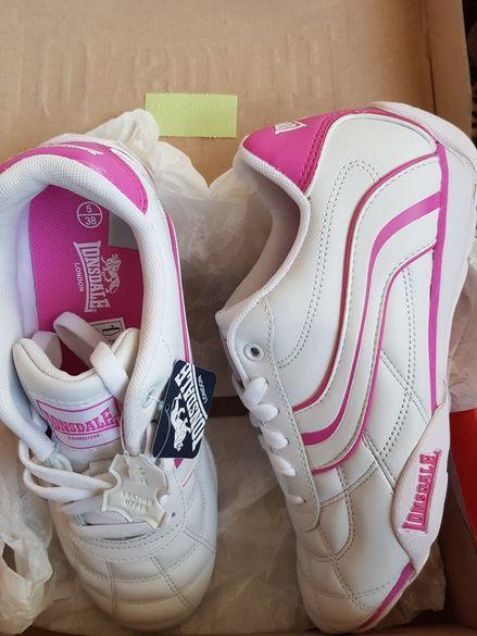 Дамски маратонки от естествена кожа за 65 лв-купени за 120лв 38 номер