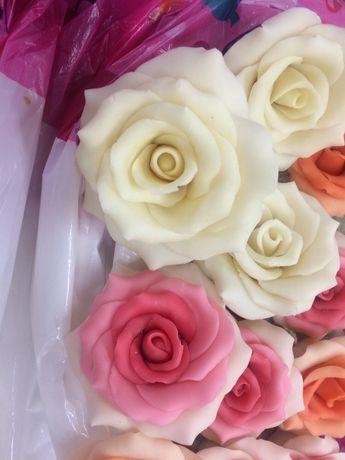Рози от шоколад