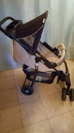 Комбинирана детска количка Hauck trio set/3 в 1- зимна, летна,кош/