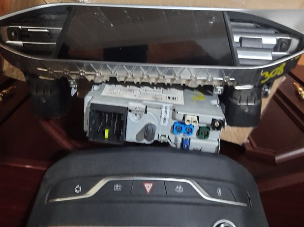 Nac navigatie Citroen Peugeot 308 508 3008 + display nou